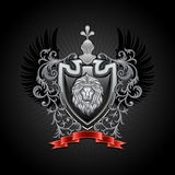Coat of arms. Vector illustration Stock Photo