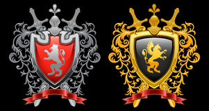 Coat of arms Stock Photos