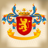 Coat of Arms 22c - Lion Royalty Free Stock Photo