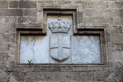 Coat of arms Stock Photo