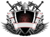 The coat of arms Stock Image