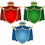 Coat of Arms Banners Royalty Free Stock Images