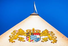 Coat of arms - bavaria. Old coat of arms of bavaria - germany Stock Photos