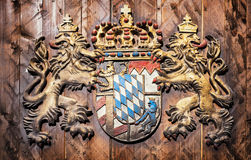 Coat of arms - bavaria Stock Image