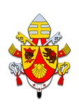 Coat of arms Benedicto XVI. Stock Photo
