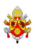 Coat of arms Benedicto XVI. Stock Photo