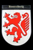 Coat of arms of Braunschweig Royalty Free Stock Photo