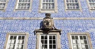Coat of Arms and Building Facade Stock Photos