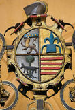 Coat of Arms at Burgos Cathedral Stock Image