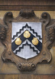 Coat of arms in Cambridge University Royalty Free Stock Photography