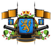 The coat of arms Stock Photography