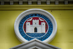 Coat of Arms, Carrickfergus, Northern Ireland Stock Photos