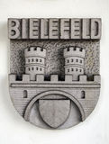 Coat of arms. Coat of arms, city of Bielefeld, Germany royalty free stock image