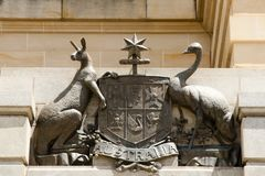 Coat of Arms. Of Australia Royalty Free Stock Images