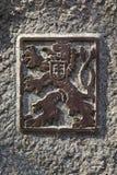 Coat of arms of Czechoslovakia Stock Image