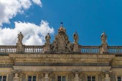 Coat of Arms Decoration Royal Palace, Madrid Stock Photo
