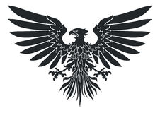 Coat-of-arms eagle Royalty Free Stock Photos