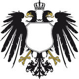 Double-headed eagle  Stock Photos