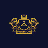 Coat of Arms fashion. Sophisticated fashion Coat of Arms Stock Photos