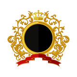 Coat of arms. Flat design Stock Photo