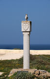 Coat of arms in Fortaleza de Sagres Royalty Free Stock Photography