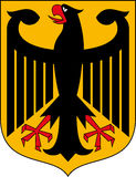 Coat of arms Germany Stock Photo