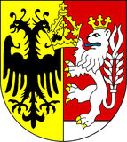 Coat of arms of Goerlitz Royalty Free Stock Photography
