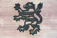 Coat of arms from Hesse Stock Photography