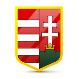 Coat of arms Hungary Royalty Free Stock Photo