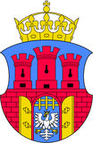 Coat of arms of Krakow Stock Images