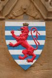 Coat of arms of Luxembourg Royalty Free Stock Photos