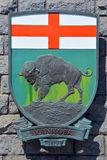 Coat of arms of Manitoba Stock Photo