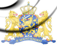 Coat of Arms of the Netherlands. Stock Photography