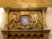Coat of arms, Neuchatel, CH royalty free stock photography