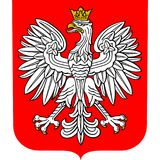Coat of arms of Poland Royalty Free Stock Images