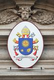 Coat of arms of Pope Francis royalty free stock images