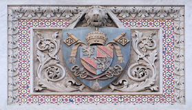 Coat of arms of prominent families, Florence Cathedral Royalty Free Stock Photography
