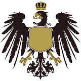 Coat of arms of Prussia Stock Images
