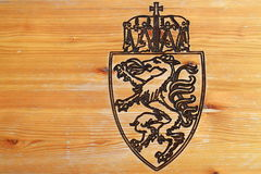 Coat of arms of Reiteralm. Austria Stock Photography