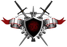The coat of arms Royalty Free Stock Photos
