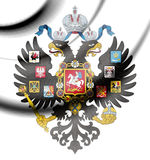 Coat of Arms of Russian Empire. 3d Rendered Coat of Arms of Russian Empire Royalty Free Stock Image