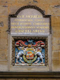 Coat of Arms in University of Oxford Stock Images