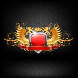 Coat of arms vector Royalty Free Stock Photography