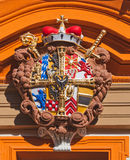 Coat of Arms of Wrocław Stock Images