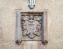 Coat city Cardona Royalty Free Stock Images