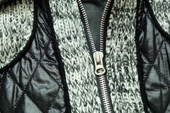 Coat with different texture Royalty Free Stock Images