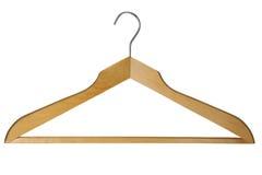 Coat hanger. Isolated on white  background Royalty Free Stock Photography