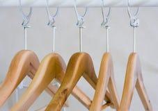Coat hanger. Photos of a coat hanger Stock Image