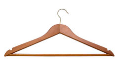 Coat Hanger. Background is pure white, no shadows Stock Photography