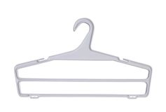 Coat hanger Stock Photos